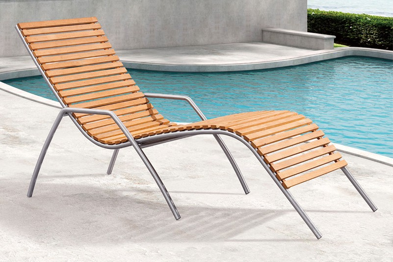 Swimming pool water proof All weather outdoor beach  chaise lounge