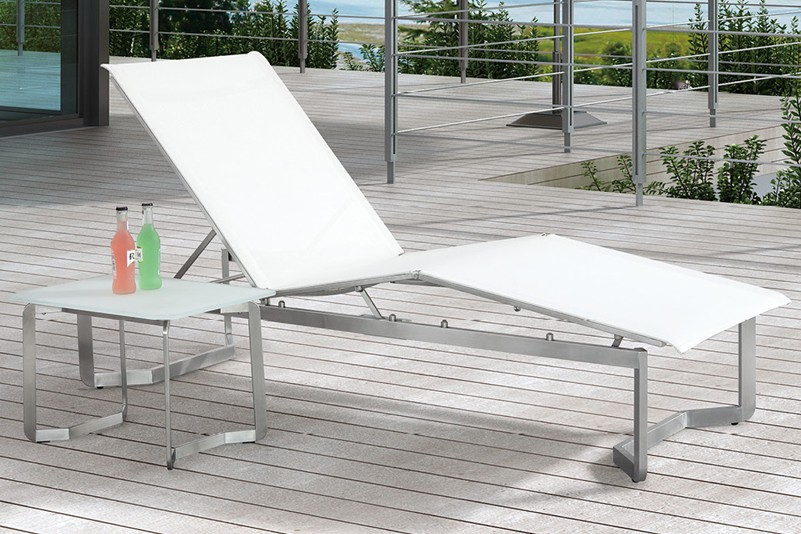 Multifunctionality stainlesss steel batyline beach chair set